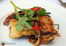Рецепта за рибен кебап с гъби