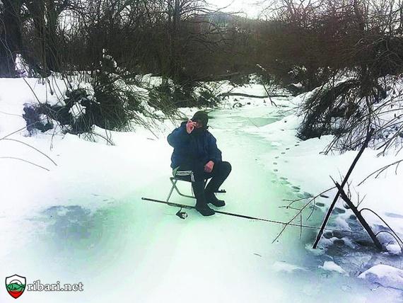 Захранка и стръв за пъстърва през зимата