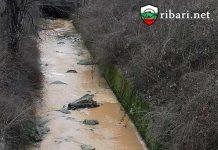 Река Поройна замириса и пак се оцвети в кафяво