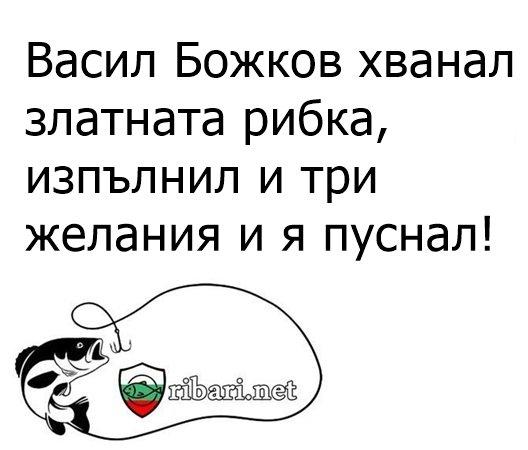 Васил Божков хванал златната рибка